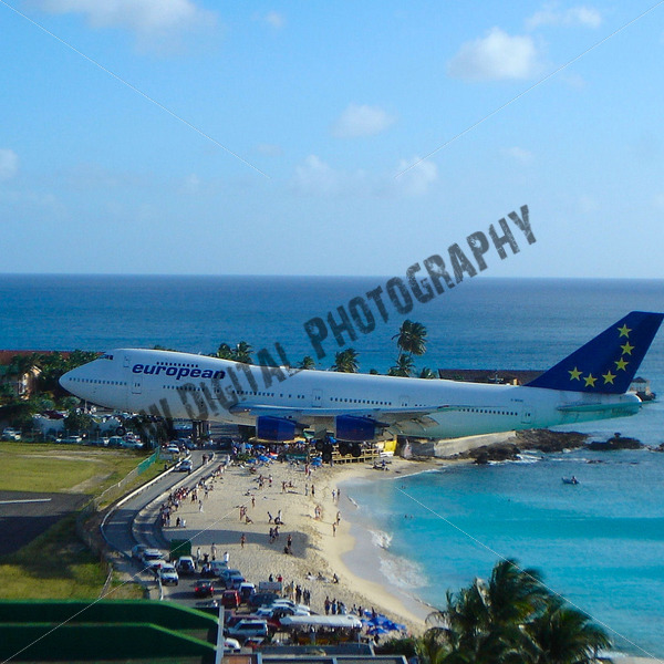 European Airlines Landing - JW Digital Photography