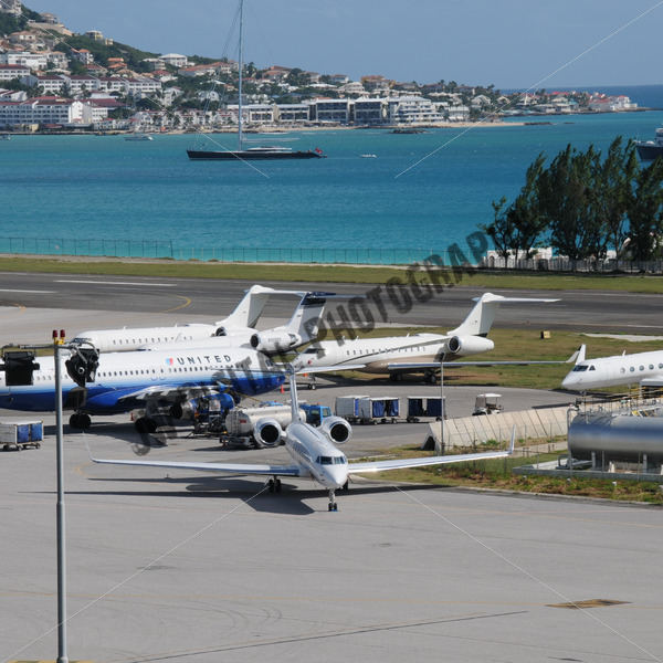 Parked Private Planes - JW Digital Photography